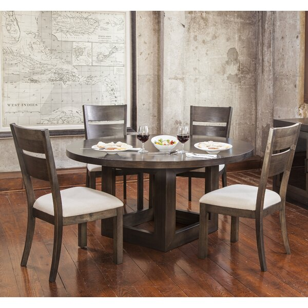 Hazelton 5 Piece Solid Wood Dining Set by Gracie Oaks