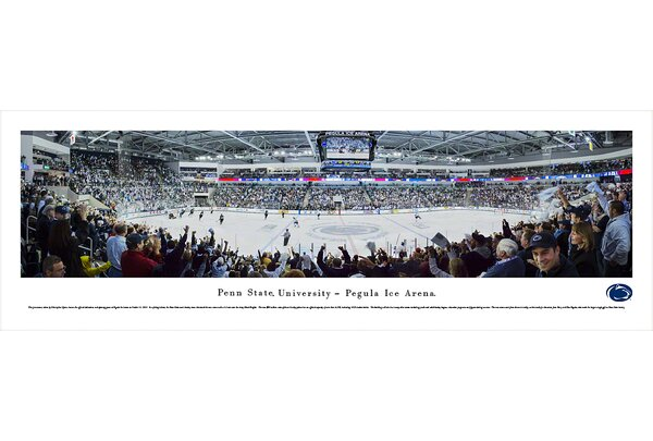 NCAA Penn State University - Hockey by Christopher Gjevre Photographic Print by Blakeway Worldwide Panoramas, Inc