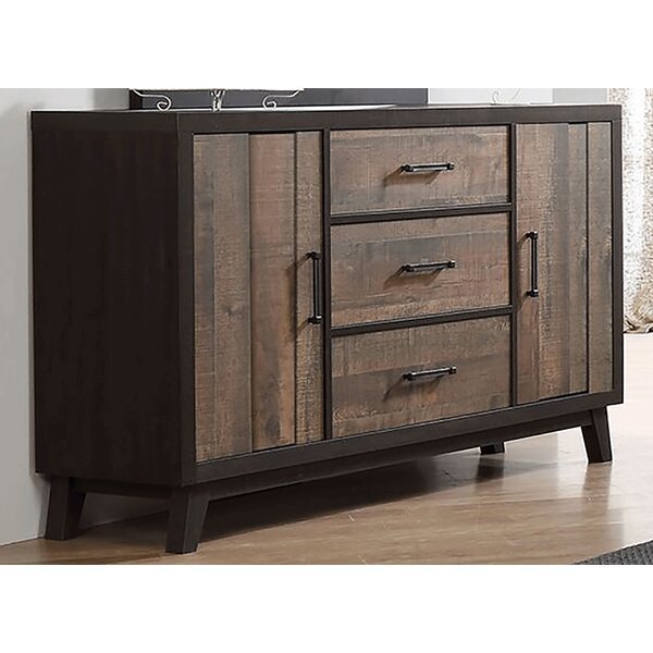 Merlene 3 Drawer Combo Dresser by Foundry Select
