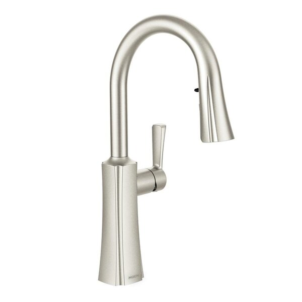 Etch Single Handle Kitchen Faucet with Reflex™ and Duralock™ by Moen