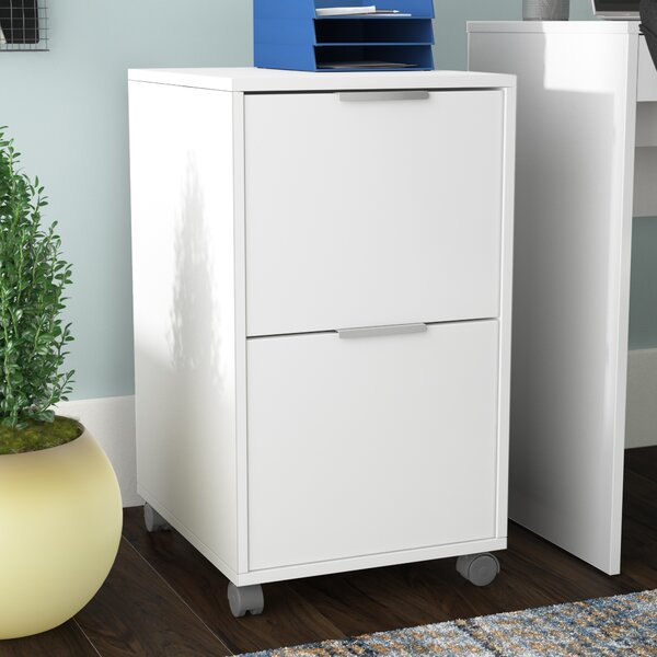 Castelli 2 Drawer Vertical Filing Cabinet by Ebern DesignsCastelli 2 Drawer Vertical Filing Cabinet by Ebern Designs