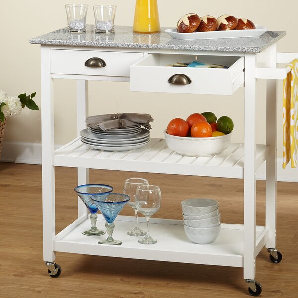Narrow Rolling Kitchen Cart | Wayfair