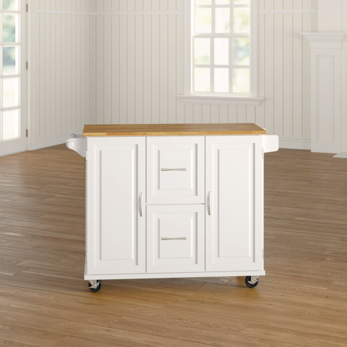 Lomas Kitchen Island Solid Wood