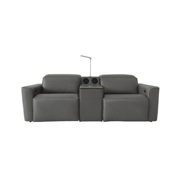 Outdoor Furniture Gen Z Reclining 91.35'' Square Arm Sofa