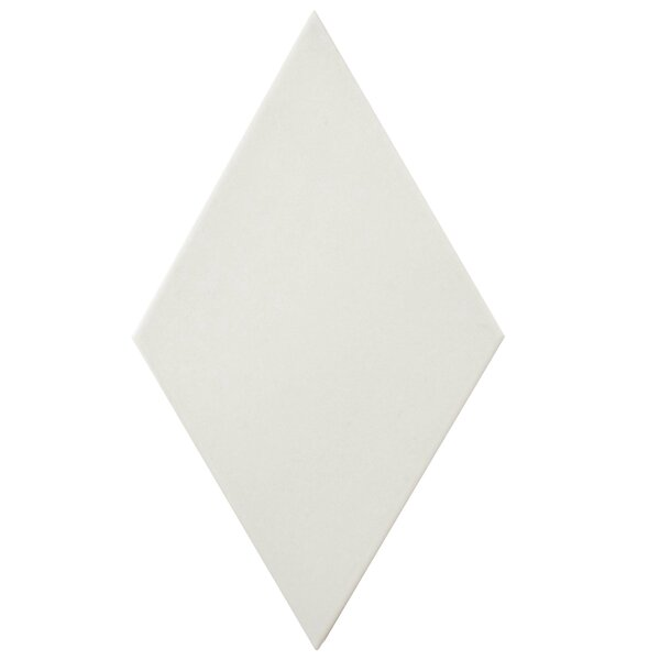 Ronbo 5.5 x 9.5 Porcelain Field Tile in White by EliteTile