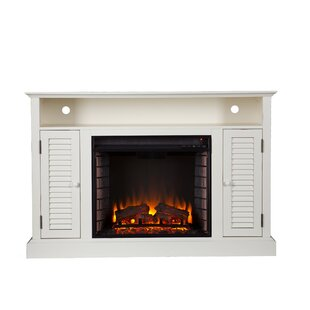 Affordable Scottsburg TV Stand for TVs up to 50 with Fireplace ByAlcott Hill
