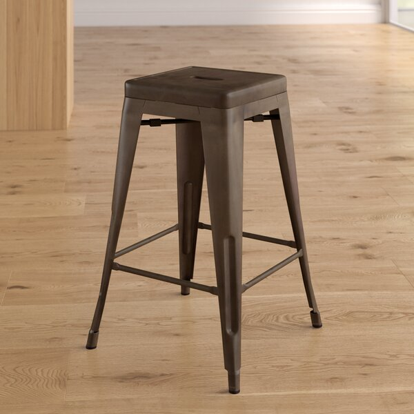 Alyssa Traditional 24 Bar Stool (Set of 3) by Zipcode Design