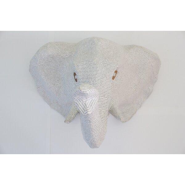 Paper Mache Elephant 3d Wall D 233 Cor By Caribbean Craft