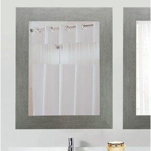 Read Reviews Tippett Brushed Silver Wall Mirror ByBrayden Studio