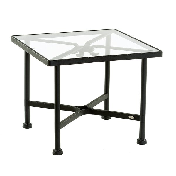 Aikens Glass Side Table by One Allium Way One Allium Way