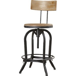 Oria Adjustable Height Swivel Bar Stool  sc 1 st  AllModern & Modern Adjustable Bar Stools + Counter Stools | AllModern islam-shia.org