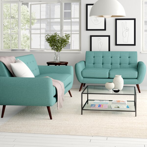 Diara 2 Piece Living Room Set by Zipcode Design