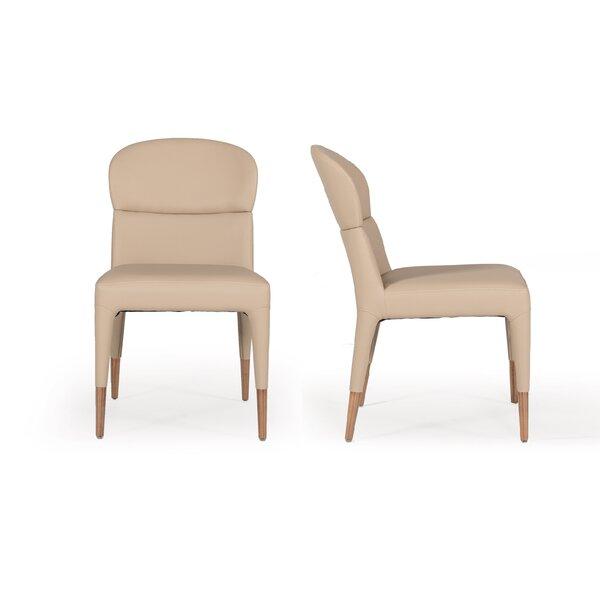 Mclain Modern Upholstered Dining Chair (Set of 2) by Mercer41