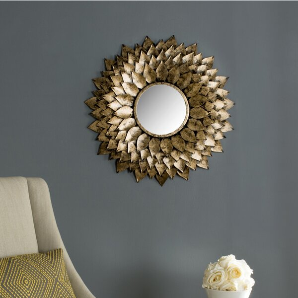 Sunburst Wall Mirror by Darby Home Co