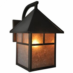 Top Reviews Heritage 1-Light Outdoor Wall Lantern By Steel Partners
