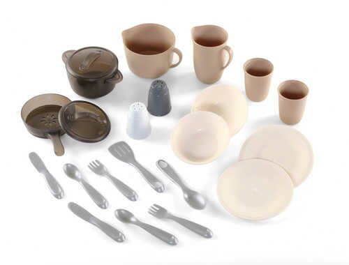 LifeStyle Dining Room 22 Piece Pots and Pans Play Set by Step2