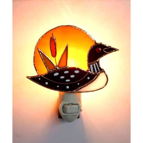 Loon Sunrise Night Light by Gift Essentials