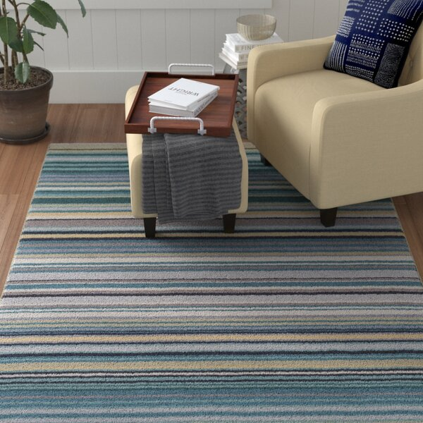 Bradley Stripe Area Rug by Winston Porter