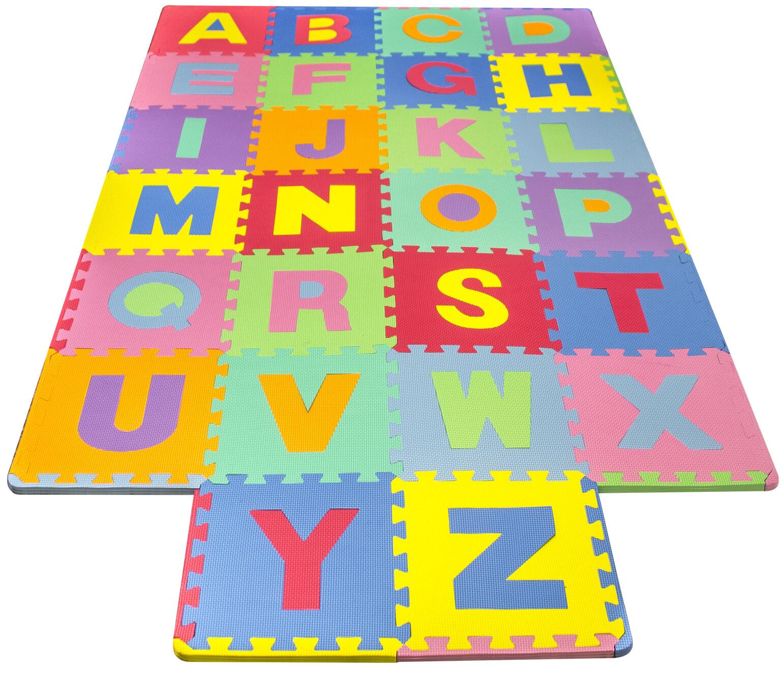 Matney foam alphabet puzzle floor mat reviews wayfair dailygadgetfo Images