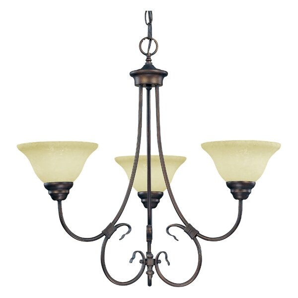 Lana 5 - Light Shaded Classic / Traditional Chandelier By Charlton Home