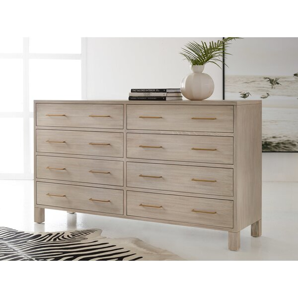 Maui 8 Drawer Double Dresser by Modern History Home Modern History Home