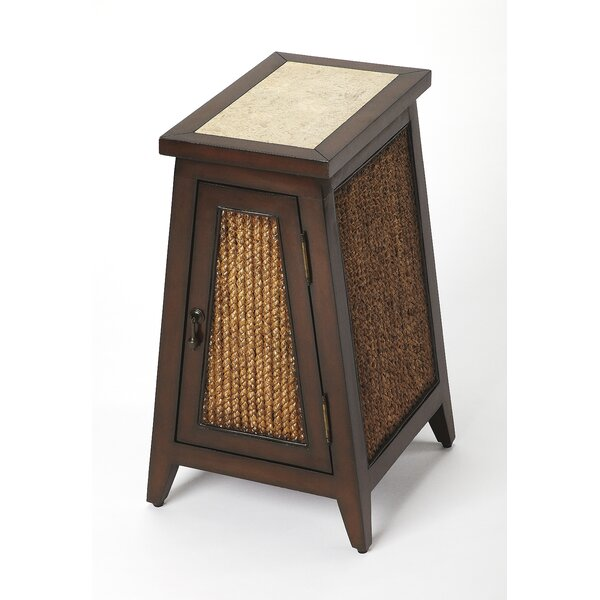 Wycombe Rustic End Table by Bay Isle Home
