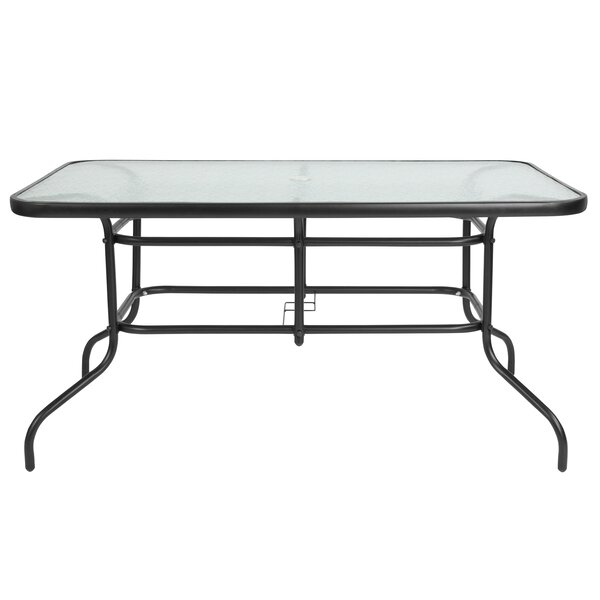 Sons Rectangular Steel Dining Table by Ebern Designs