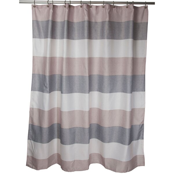 Evan Shower Curtain by Famous Home Fashions