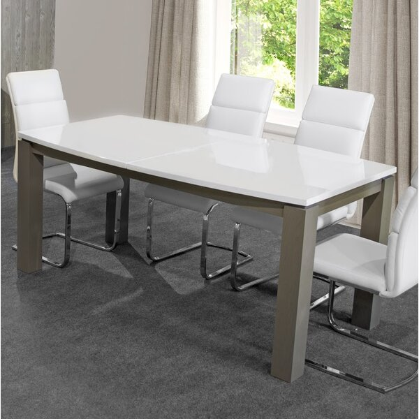 Hurley Extendable Dining Table by Orren Ellis