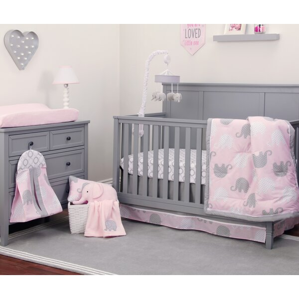 Dreamer 8 Piece Crib Bedding Set by NoJo