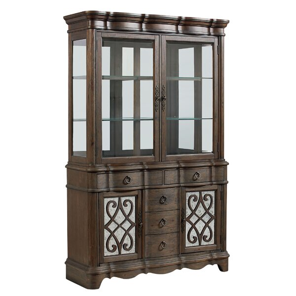 Dana China Cabinet by Fleur De Lis Living