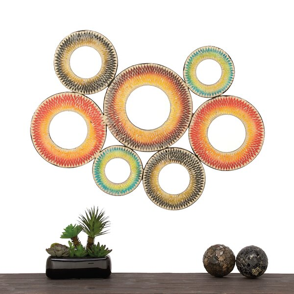 7 Piece Bohemian Mirror Set by Urban Designs
