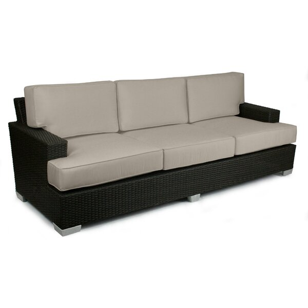 Sienna Patio Sofa with Sunbrella Cushions by Axcss Inc.