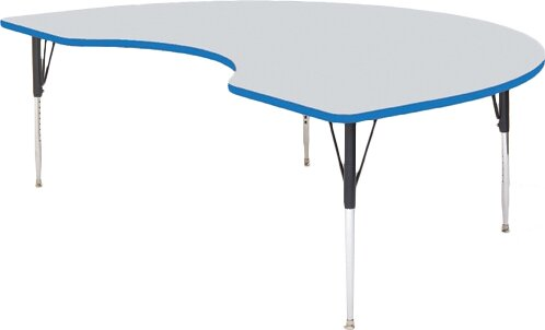 72 x 48 Kidney Activity Table by Correll, Inc.