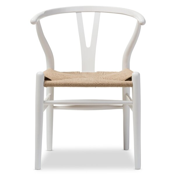 Calla Solid Wood Dining Chair by Latitude Run
