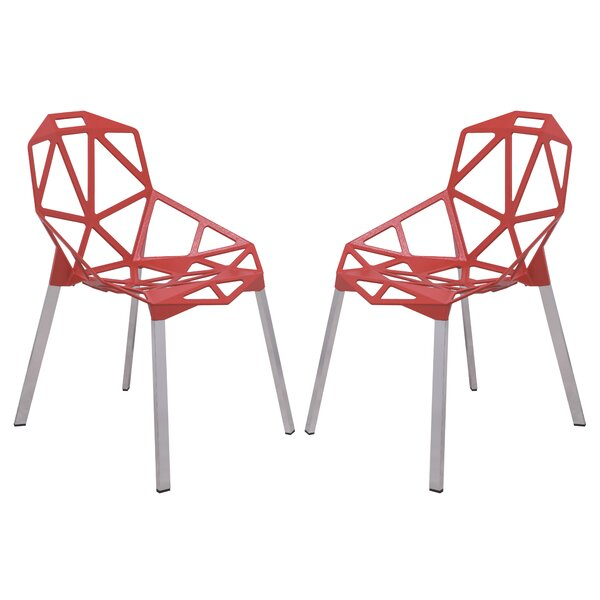 Dalton Modern Dining Chair (Set of 2) by LeisureMod