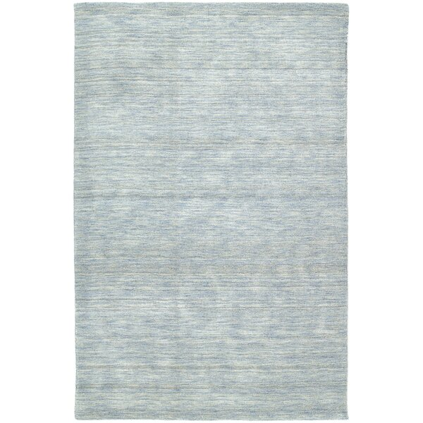 Mccabe Hand Woven Wool Azure Area Rug by Red Barrel Studio