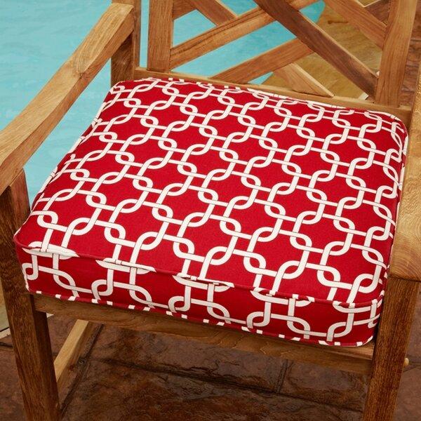 Replogle Indoor/Outdoor Dining Chair Cushion by Brayden Studio