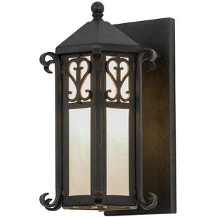 Online Reviews 1-Light Outdoor Sconce By Meyda Tiffany