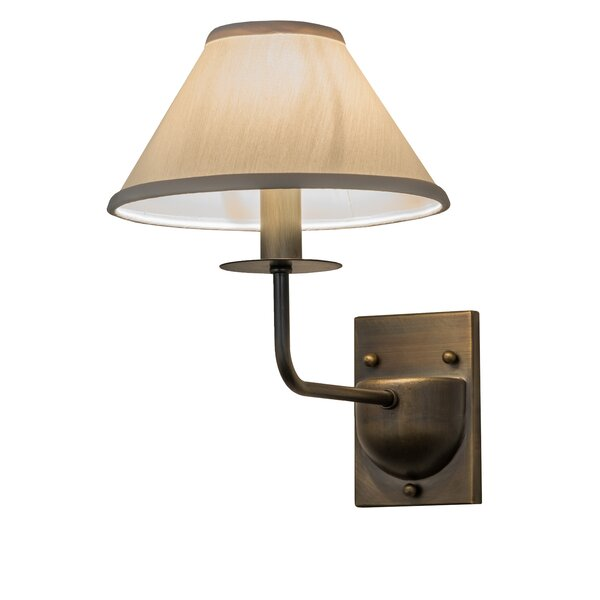 Greenbriar Annacostia 1-Light Candle Wall Light by Meyda Tiffany