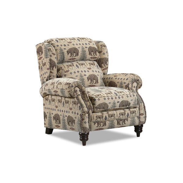 Clemens Hi-Leg Recliner By Darby Home Co