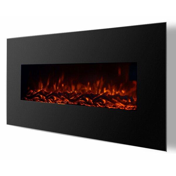 Kewaunee Pro Ventless Heater Wall Mounted Electric Fireplace by Brayden Studio Brayden Studio