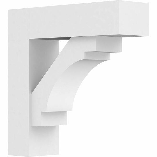 Merced Standard Architectural Grade PVC Bracket by Ekena Millwork