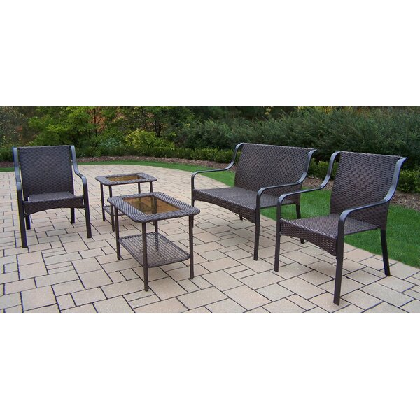 Cheree 5 Piece Sofa Seating Group Set by Winston Porter