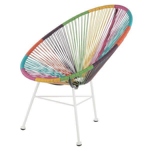 Maya Acapulco Woven Basket Lounge Chair by Joseph Allen
