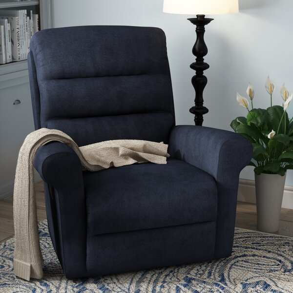 Smotherman Upholstered Manual Wall Hugger Recliner [Red Barrel Studio]