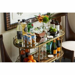 Havana Crossing La Cuna Bar Cart by Stanley Furniture