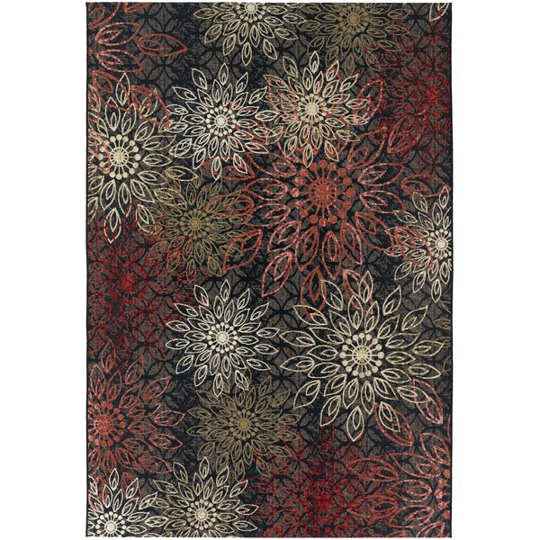 Sauget Brown Indoor/Outdoor Area Rug by Red Barrel Studio