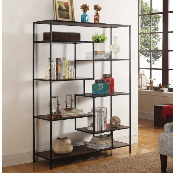 Mcavoy Metal Framed Standard Bookcase by Ivy Bronx