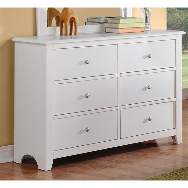 Derwin 6 Drawer Double Dresser by Ebern Designs